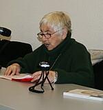Esther Bejarano bei der Lesung