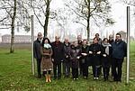 Gruppenbild der Vertreter/innen der Amicale Internationale KZ Neuengamme