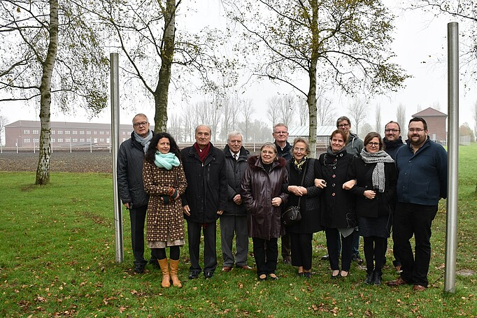 Representatives of the Amicale Internationale of the Neuengamme Memorial