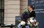 Viktoria Kutdusova bei der Gedenkveranstaltung zum 75. Jahrestag des deutschen Überfalls auf die Sowjetunion