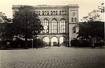 Historisches Foto Fassade des ehemaligen Hannoverschen Bahnhofs